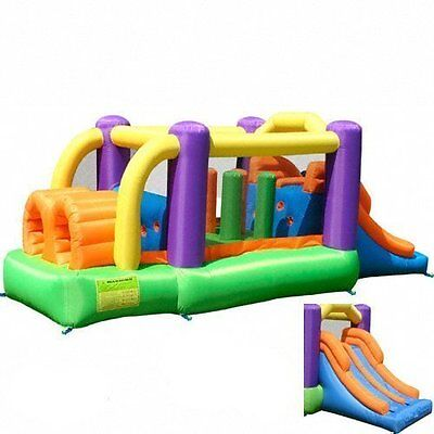 Inflatable Obstacle Pro-Racer Bounce Course House Kids Slide Bouncer
