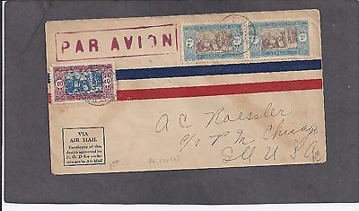 1927 A C Roessler Airmail-St Louis,senegal To Chicago,ill