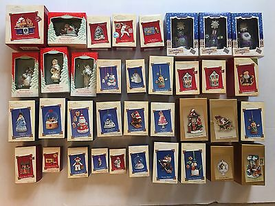 Lot of 36 Hallmark Keepsake Ornaments 2002-2005 Magic Singles Membership Series