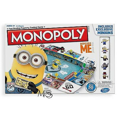 Despicable Me Monopoly Collectors Edition  *  Brand New  *