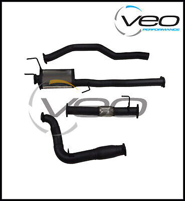 """Holden Colorado Rg 2.8L Duramax 3"""" 409 Stainless Steel Turbo Back Exhaust System"""