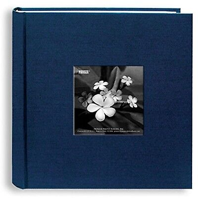 Pioneer Photo Navy Blue Lagoon Silk 4x6 Albums (Pack of 2)