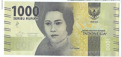 Fresh from MINT 2016 Indonesia 1000 rupiah note UNC Read description world lot