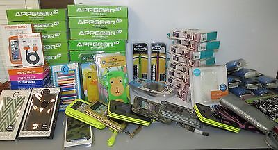 HUGE Wholesale Electronic Phone Accessories Lot New & Sealed Flea Market Resell
