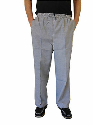 Chef Uniform Hospitality Pants Black And White Back Pocket Small Buy 1 Get 1 FRE