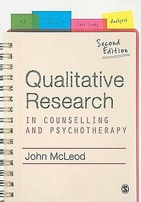Qualitative Research in Counselling and Psychotherapy, John McLeod