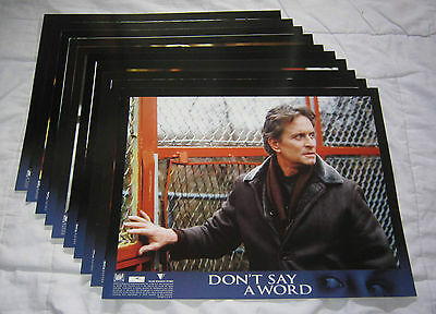 Lot of 3 MYSTERY/THRILLER 11 x 14 Lobby Card Sets
