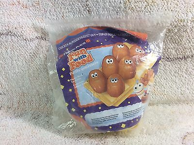 Mcdonalds Happy Meal Toy Fisher Price Fun With Food Nugget Guys 1980s NOS