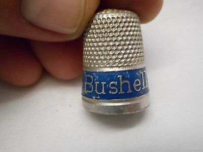 Vintage Bushells The Best Of Flavor  Advertising Thimble