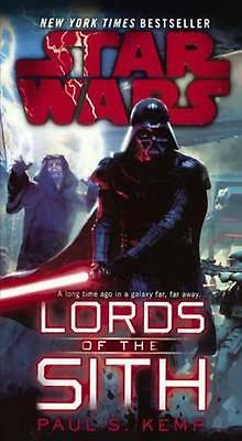 NEW Star Wars Lords Of The Sith by Paul S. Kemp BOOK (Hardback) Free P&H