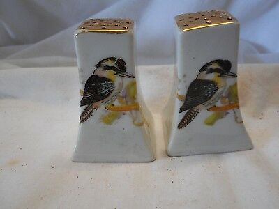 Vintage Kookaburra Salt & Pepper Shakers