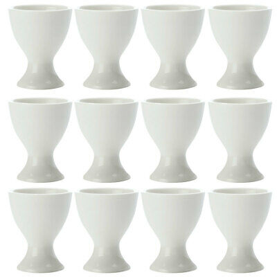 12pc Set Maxwell & Williams White Basics Boiled Egg Cup/Holder/Stand Tableware