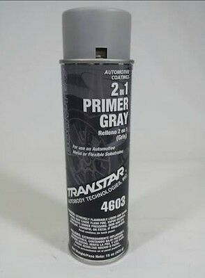 Transtar 2in1 Primer Grey Spraycan/Aerosol 4603 400g, Automotive Paint, Touch Up