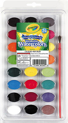 Crayola Washable Watercolors Paint