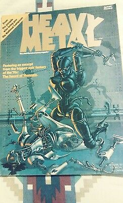 Heavy Metal Magazine #1 (Apr 1977, HM Communications, Inc.)
