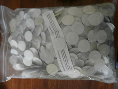 Supercentre CD disc dots (clear, adhesive backed) bag of 1,000 units