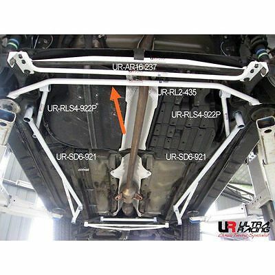 Ultra Racing FOR TOYOTA WISH 1.8 '05-'09 REAR LOWER BAR 2 POINTS (UR-RL2-435)