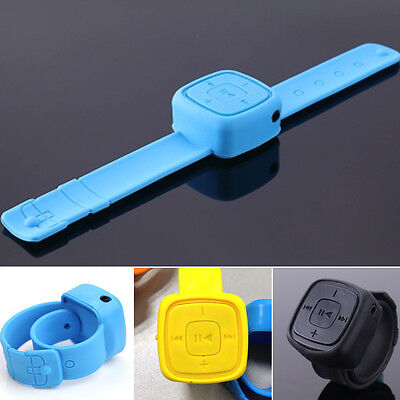 USB MP3 Music Player Watch Shape Support 32GB Micro SD TF Card Slot Sport new