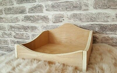 Guinea pig wooden bed