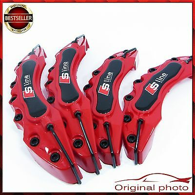 Audi S Line Set Brake Caliper Cover Covers Universal Disc Racing Front Rear New