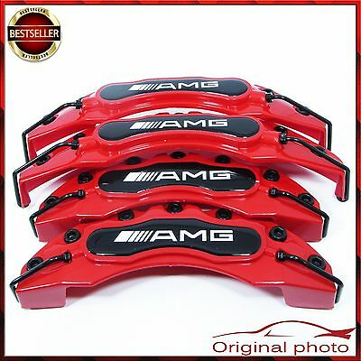 Mercedes AMG Set Brake Caliper Cover Covers Universal Disc Racing Front Rear New