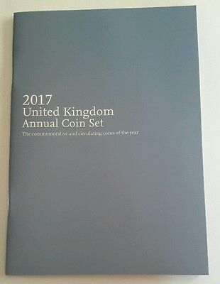 The 2017 Royal Mint  Annual Coin Set Booklet - Brand New (no Coins)