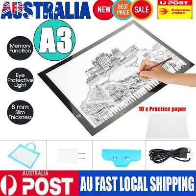 A3 LED Tracing Light Box Stencil Drawing Board Pattern Art Design Lightbox Pad