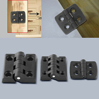 10Pcs Reinforced Plastic Hole Door Cabinet Butt Bearing Hinge 2 Leaves