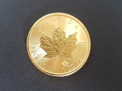 31.1035 GRAMS CanadianGoldCoins .9999 Purity Encrypted Signature Verified