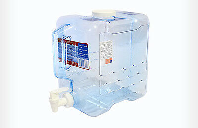 Kazmi Portable Drinking Water Tank Easy Wash Carry Handle 7.5 Liter Made in USA