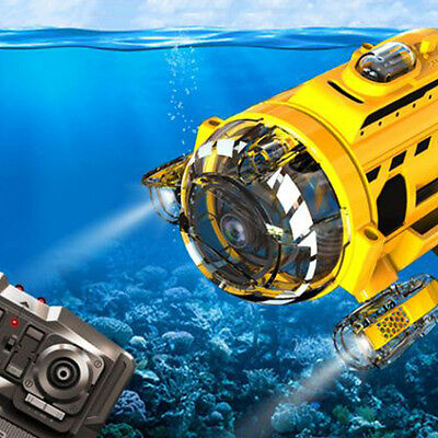 "''Sub-Mariner camera""  RC Underwater Drones(ROV) Camera equipped submarine"