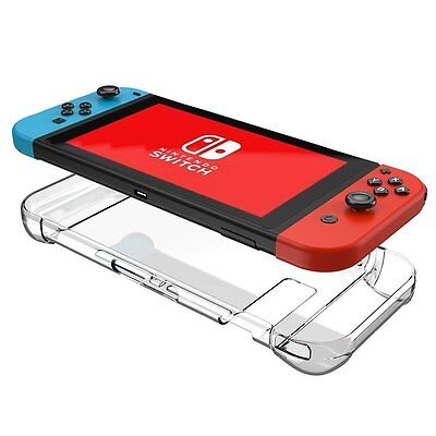 Supremery Nintendo Switch Hülle Crystal Case Cover - Crystal Clear