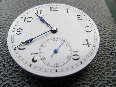 Vintage pocket watch works movement