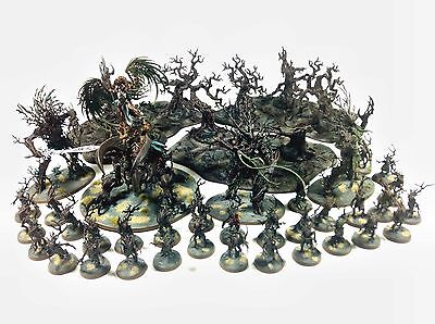 Warhammer Age Of Sigmar Sylvaneth Army painted by Dante Miniatures