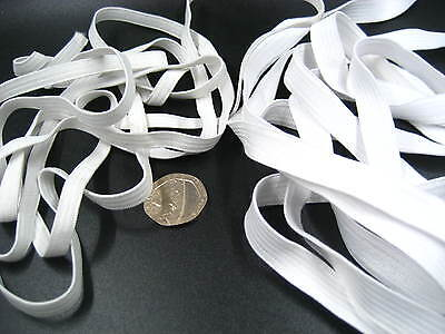 30ms 10mm 6mm white sewing accessories flat thin elastic clothes skirt elastic