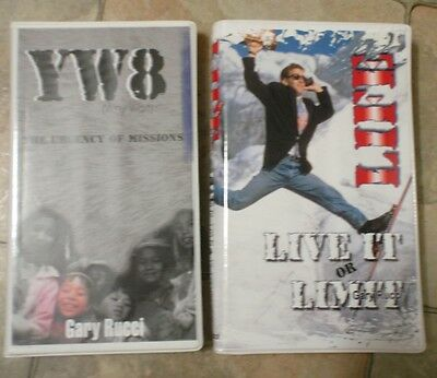 CASSETTES x 9 GARY RUCCI SOUTHSIDE CHRISTIAN CHURCH - RELIGION LIVE IT LIMIT YW8