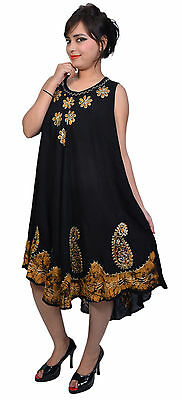 Indiantrend Lot of 10 Womens Maxi Cocktail Beach Dress