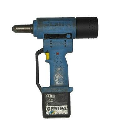 Gesipa Accubird Battery Riveter | Cordless Rivet Tool Kit | Reconditioned