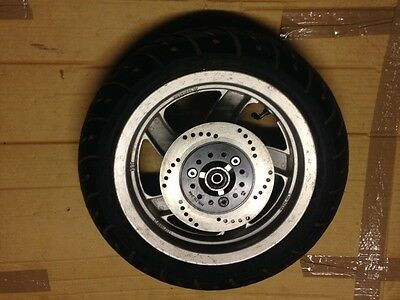"""New Scooter Wheel Tyre And Disc For A 12Mm Wheel Spindle 120 / 70 12"""""""