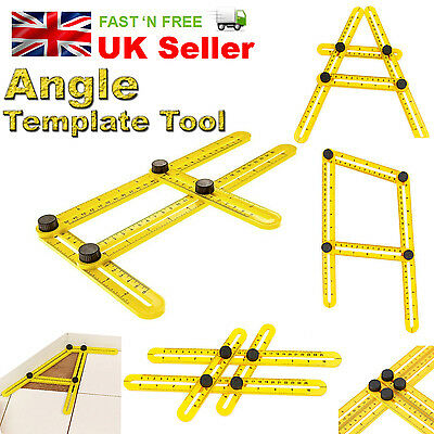 New Multi Angle Ruler Temple tool 836 Angle-izer TGR Measuring 4 sided Scale