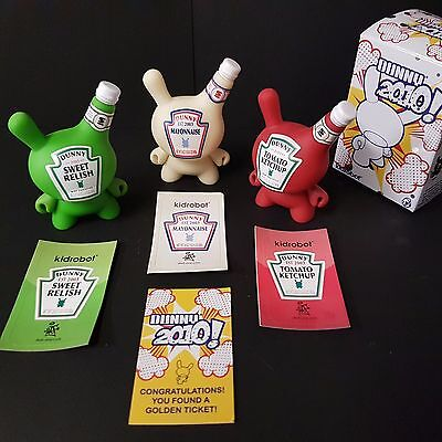 Kidrobot Dunny 2010 !Exceptional! Absolute Complete Collection
