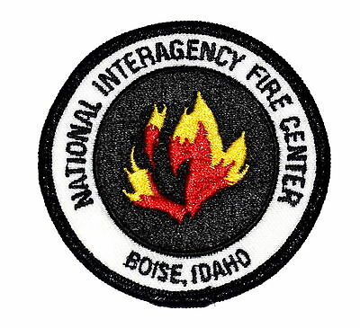 BOISE IDAHO ID FIRE Police Patch NATIONAL INTERAGENCY FIRE CENTER - FLAMES 3""