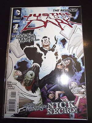 New 52 Justice League Dark Annual #1 Nick Necro NM-