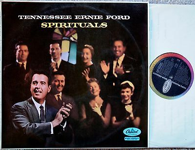 Tennessee Ernie Ford ‎– Spirituals- Capitol Records ‎– T818 1st ED 1957 LP NM