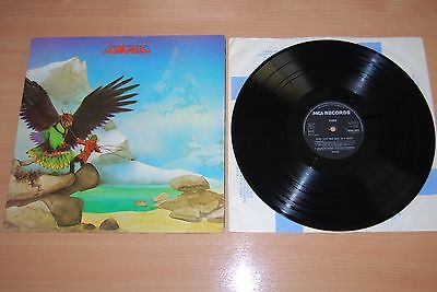 BUDGIE Never Turn Your Back On A Friend UK LP RARE 1973 MCA FIRST PRESS BLACK