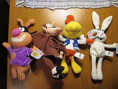 General Mills ~Breakfast Pals ~Count Chocula,Chip the Hound,Trix,Sonny~ 1998~NEW