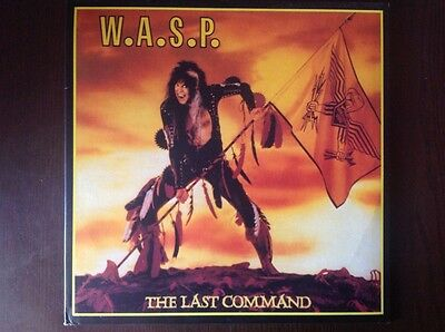 "W.A.S.P. ""The last command"" 2003 double yellow and handnumbered Lp"