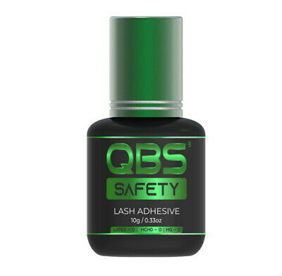 QBS® SAFETY Eyelash Extension Glue For Beginners - Hypoallergic Sensitive Glue