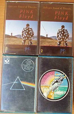 PINK FLOYD Delicate Sound of Thunder The dark side of the moon Wish You Were He