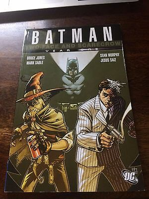 Batman -  Two face and Scarecrow Year One TPB DC Comics Graphic Novel
